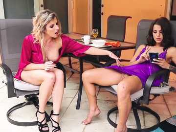 Cory Chase and Evelin Stone: The Nympho Milf Awakens