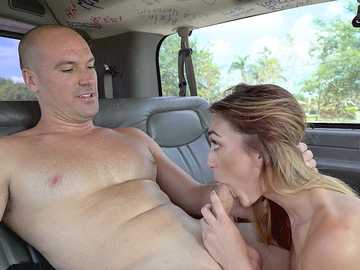 Hot Teen Ana Rose Gets Fucked on The Bus
