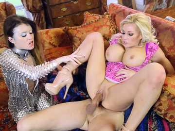 Michelle Thorne shows Misha Cross how to fuck hard-on Danny D
